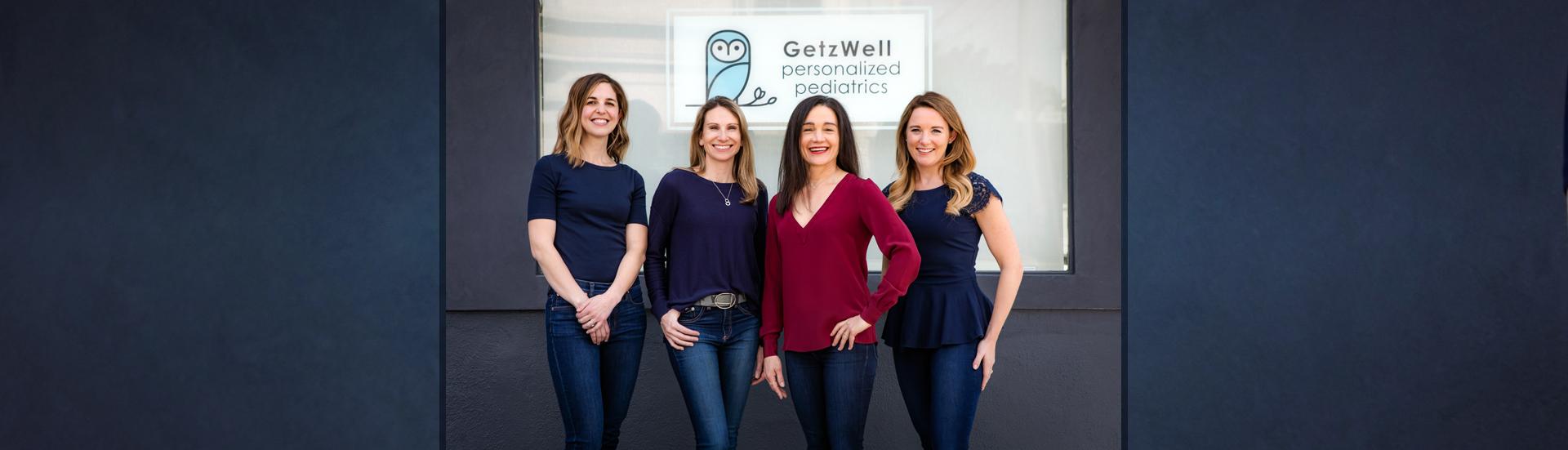 getzwell pediatrics staff banner
